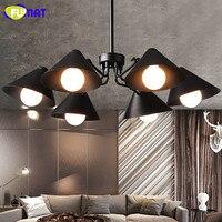 FUMAT Vintage Industrial Chandeliers Loft Dinning Room Cafe Light Bedroom Study Suspension Lamps Antique Chandelier Lighting