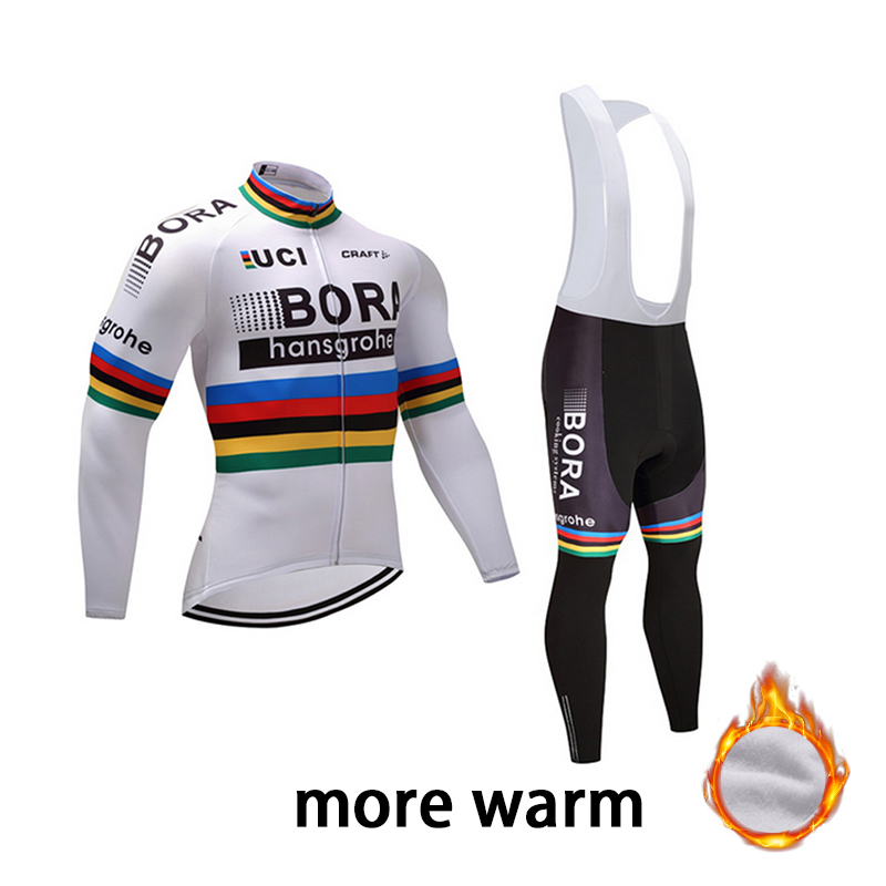 BORA 2018 Men's Autumn Cycling Long Sleeve Cycling Jersey Set Bicycle Breathable Cycling Jersey Clothing Winter Cycling Jersey cycling jersey womenpurple flowershort sleeve cycling clothing women cycling jersey cycling sets x608