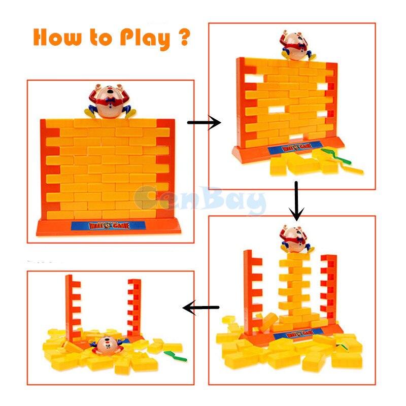 Humpty Dumpty Wand Spiel Gesetzt Wall Game Kinder Spielzeug Motorikspielzeug