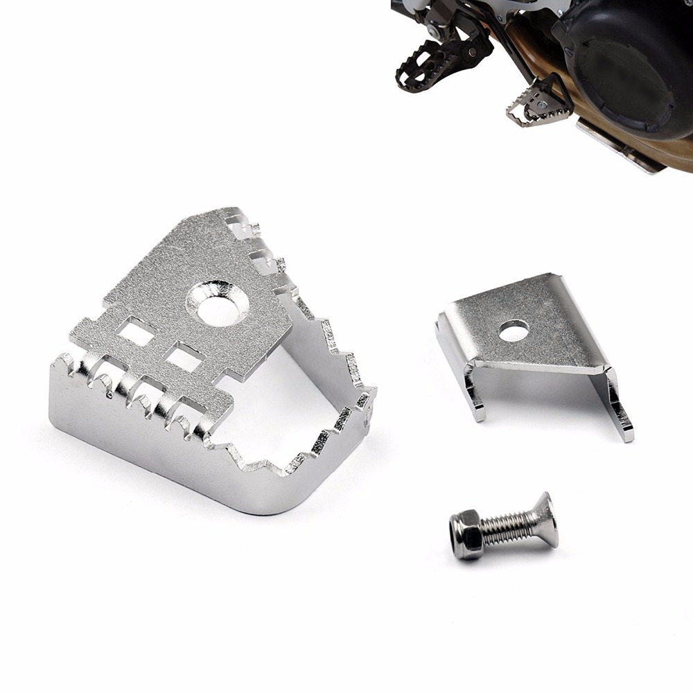 Motorcycle Foot Brake Lever Extension Rear Brake Peg Pad Enlarge Extender For BMW F800GS ADV F700GS F650GS R1150GS R1200GS for bmw r1200gs adv f800gs adv f700gs new motorcycle adjustable handlebar riser bar clamp extend adapter page 3