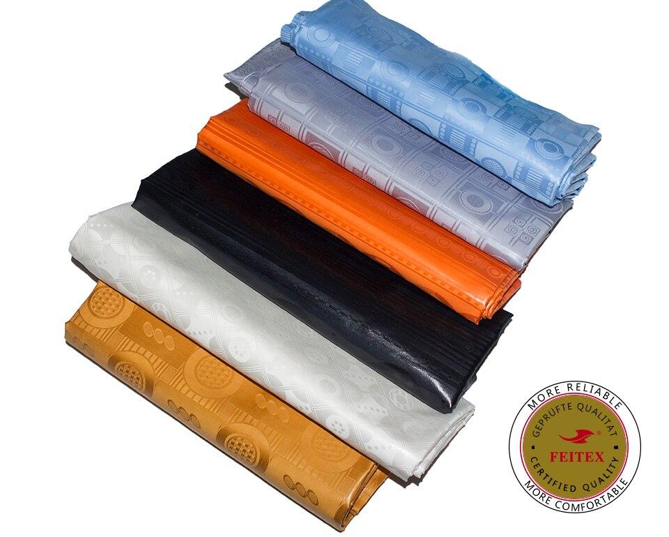 Feitex 10Yards Bazin Riche Fabric Germany Quality Guinea Brocade Damask Top Pattern Abaya Garment Fabric Soft
