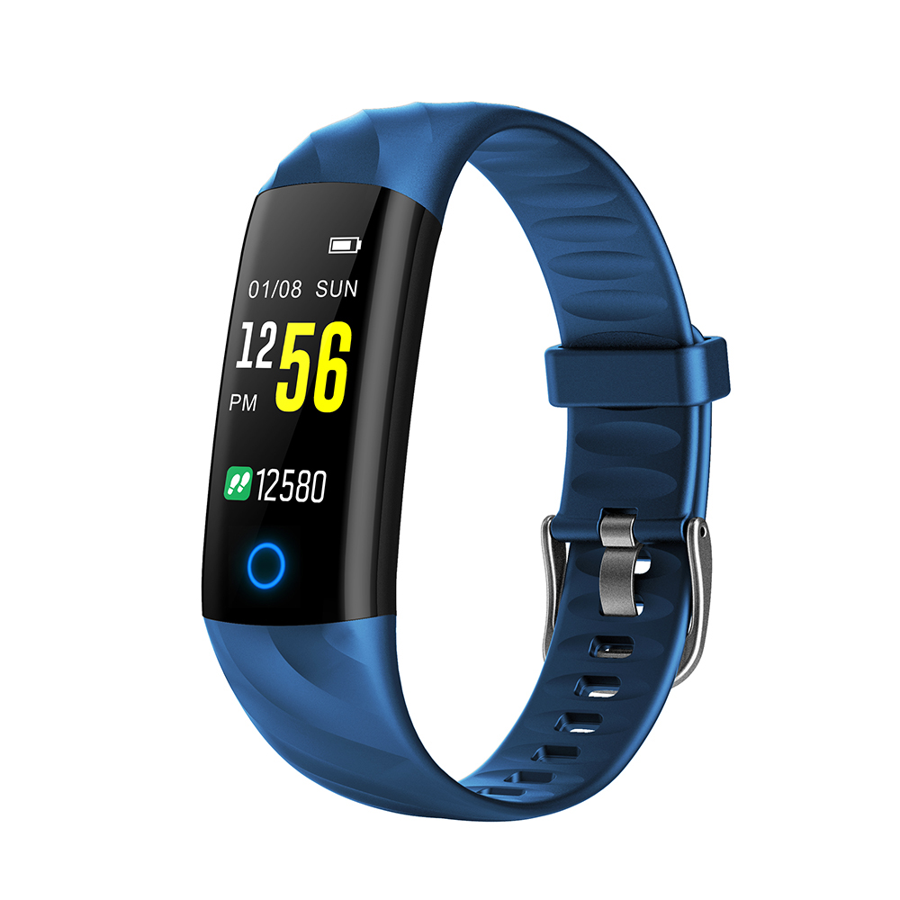 Smart Bracelet Ip67 Waterproof Swim Fitness Tracker Health Monitor Heart Rate Blood Pressure Blood Oxygen Step Calorie Counter