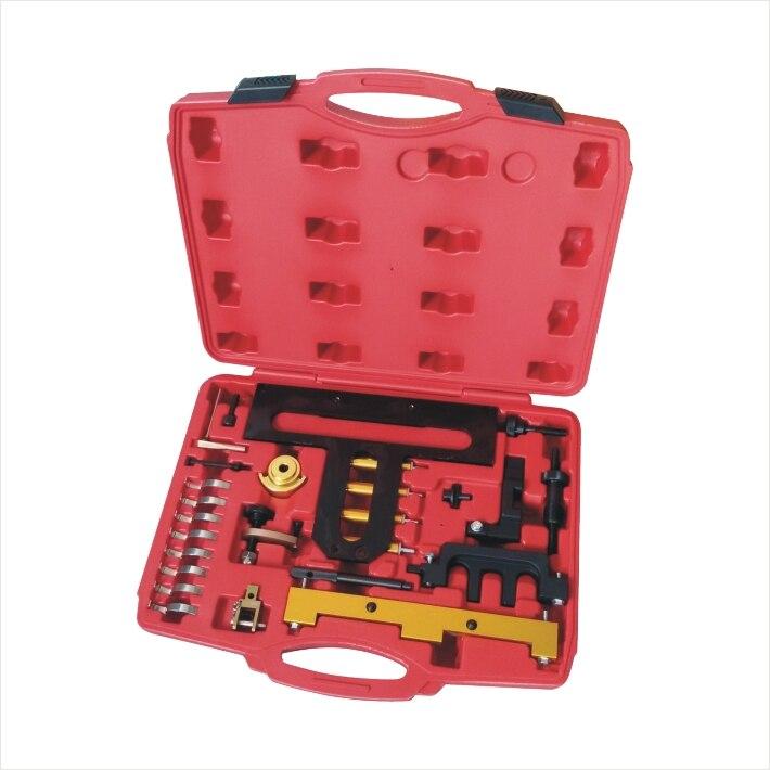 26 pièces Kit d'outils de réglage de synchronisation de moteur à essence pour BMW N42 N46-Chain Drive