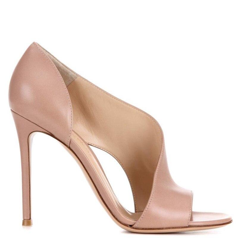 Femme noir Haute Chaussures De Ryvba Femmes En Noir Sandalias Pour Talons Beige 12 Vache Pary Cuir Mode Peep Dames Sandales Cm Mince D'été Toe Y7f6bgy