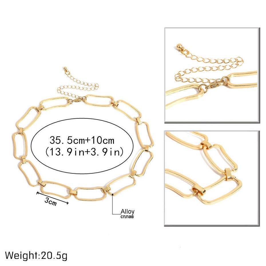 Ingemark Korean Sweet Love Heart Choker Necklace Statement Girlfriend Gift Cute Gold Silver Necklace Jewelry Collier Femme 18 4