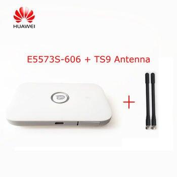 Unlocked Huawei E5573s-606 CAT4 150M 4G LTE WiFi Router Wireless + 2PCS Antenna фото