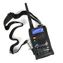 Walkie Talkie Leder Weiche Fall Abdeckung Für BAOFENG UV 5R Tragbare Ham Radio UV-5R UV-5RA Plus UV-5RE Plus UV-5RB RONSON UV-8R(China)