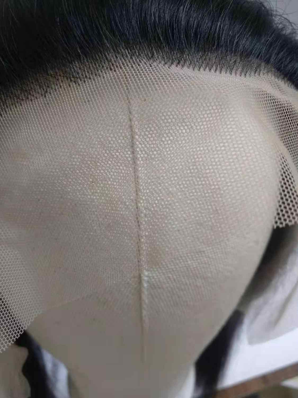 13*6 предварительно сорванные кружева фронтальное закрытие прямые волосы Реми натуральный цвет перуанские человеческие волосы уток с прозрачным кружевом фронтальная