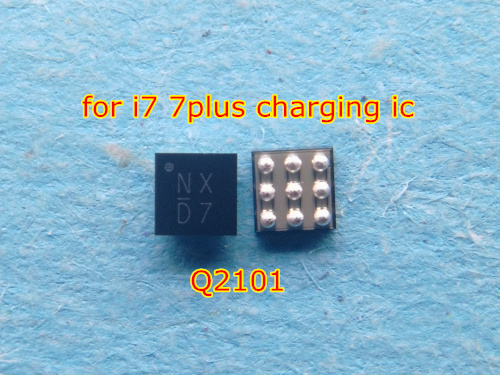 10pcs/lot Original For Iphone 7 7plus Q2101 NXC9 Usb Charging Charger Ic Chip 9pins