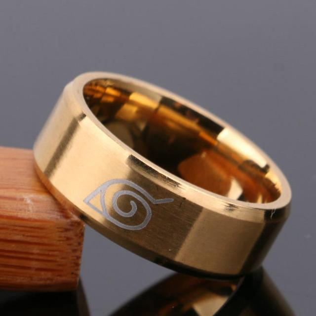 Naruto gold Ring