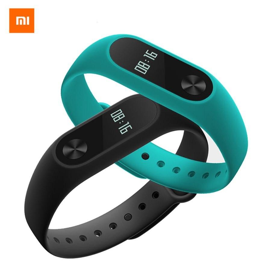 Original Xiaomi Mi Banda 2 & 1 S Xiaomi Miband Inteligente pulseira banda de Freqüência Cardíaca de Fitness Passometer Sono Rastreador Pulseira