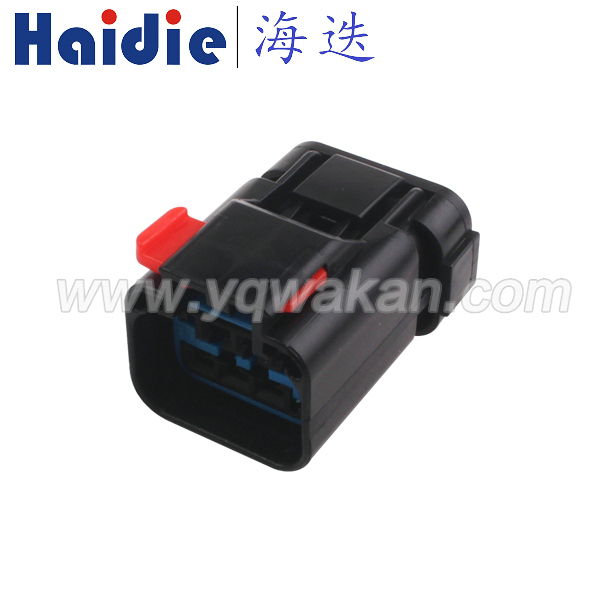 Free Shipping 5sets 6pin Female Auto Electric Housing Plug Wiring Cable Unsealed Connector 54200608
