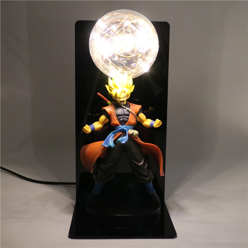 Action Figures Kids Toys Bedroom Lights Dragon Ball Z Lamp Diy Anime
