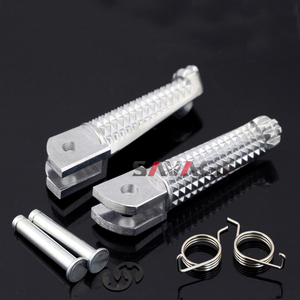 Image 1 - Front Footrest Foot Pegs For YAMAHA YZF R3/R25/R125 MT 03 MT 09 MT 10 FZ 09 FZ 10 FJ 09 MT03 MT09 MT10 FZ09 FZ10 YZF R3 YZF R25