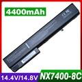 Bateria para hp compaq business notebook 8510 p 8510 w nw8200 nw8240 nx7400 nx7300 8510 w 8710 p 8700 6720 t 7400 hstnn-db06 pb992a