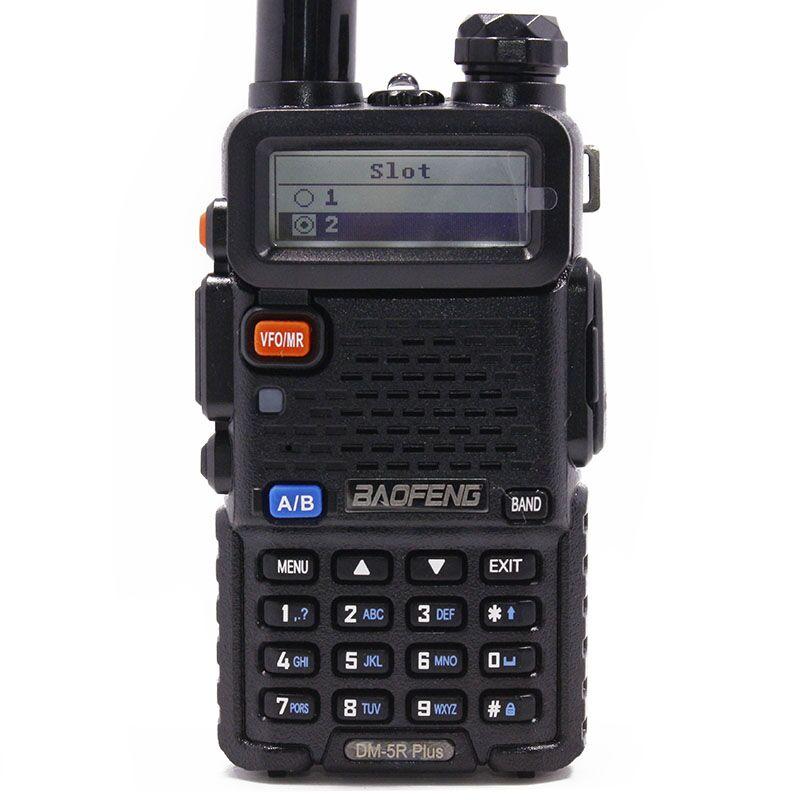 Image 2 - Baofeng DM 5R PLUS TierI TierII Tier2 Repeater Digital Walkie  Talkie DMR Two way radio VHF/UHF Dual Band radio  DM5R PLUSWalkie  Talkie