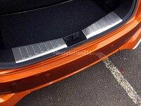 Acier Intérieure Arrière Boot Couverture de Butoir De Garniture Pour Nissan note e Puissance 2017