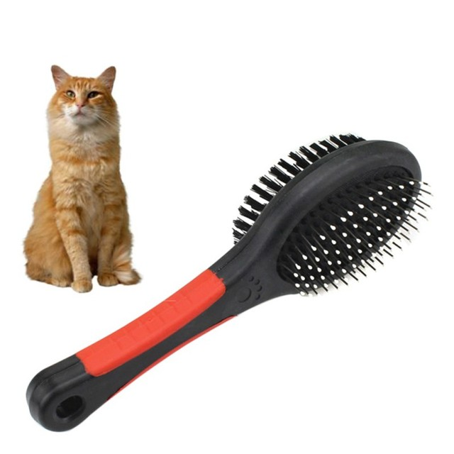 2019 Hot 2 Faces Double Sides Dog Cat Comb Pet Puppy Brush Pet Fur Grooming Tool For Long & Short Hair Dogs High Quality 1
