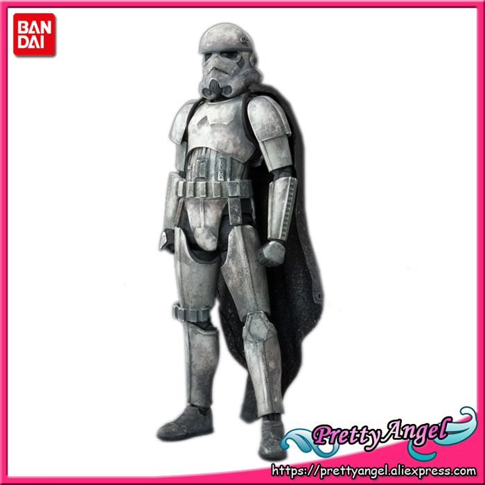 PrettyAngel - Genuine Bandai Tamashii Nations S.H. Figuarts Solo: A Story Mimban Stormtrooper Action Figure prettyangel genuine bandai tamashii nations s h figuarts the last jedi captain phasma the last jedi action figure