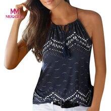 a6430c0b8fd3e MUQGEW Ins Off Shoulder Tassel Women Summer Loose Sleeveless Casual Tank  T-Shirt Tops