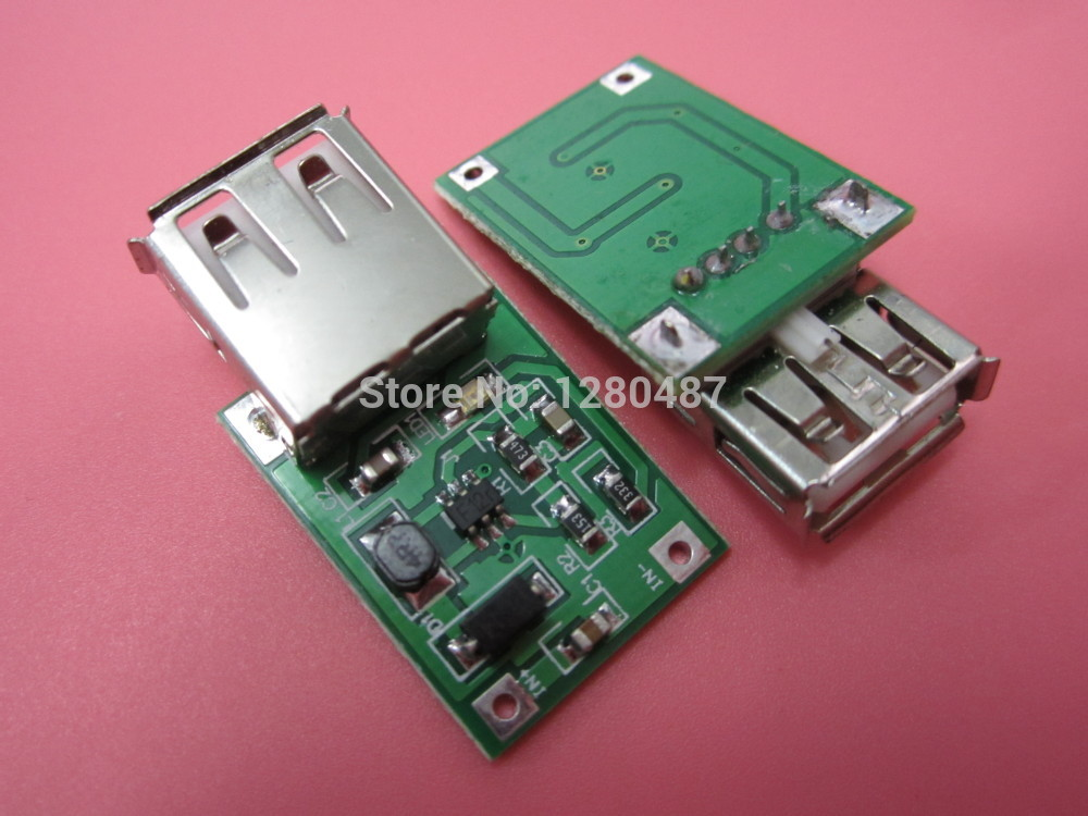5PCS 0.9V ~ 5V to 5V 600MA USB Output charger step up Power Module Mini DC-DC Boost Converter