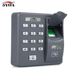 Máquina de Controle de Acesso Biométrico de impressão digital Digital Elétrica Sensor de Código do Scanner Leitor RFID Sistema De Porta de Bloqueio