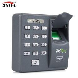 Sistema de código do sensor do varredor do leitor rfid da máquina de controle acesso biométrico da impressão digital para a fechadura da porta
