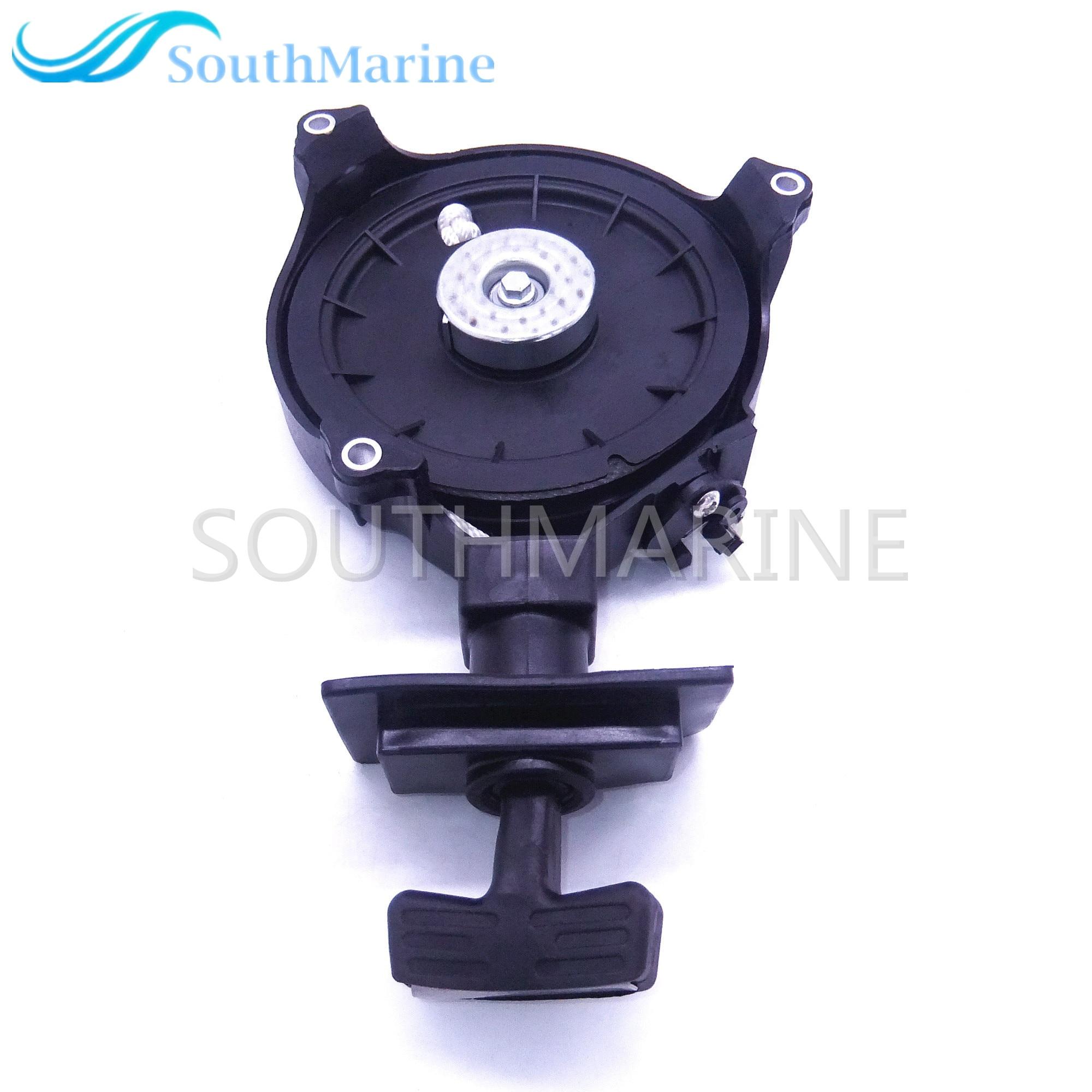 Outboard Motor Pull Starter Assy For Hangkai 2-stroke 5hp 6hp Boat