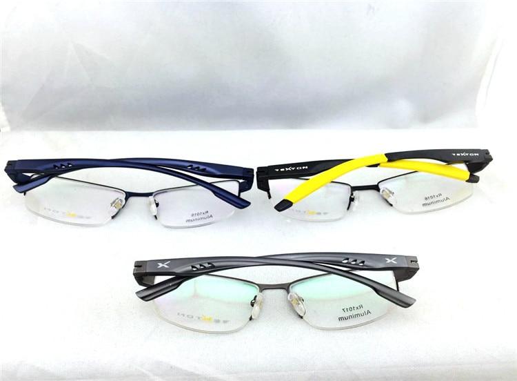 Novos óculos de Miopia Mulheres Óculos de Armações de óculos Óptica Óculos  De Armação De Alumínio de Negócios de 180 Graus Pernas Dobráveis Óculos em  ... f19e603494