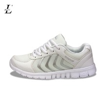 Plus Size Stability Women Men Sport Running Shoes Sneakers Breathable Mesh Soft Trainers Quality Platform Shoe Lace up Wholesale