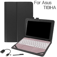 Top Quality Stand Smart PU Leather Cover For Asus Transformer Book T101HA 10 1 Inch Tablet