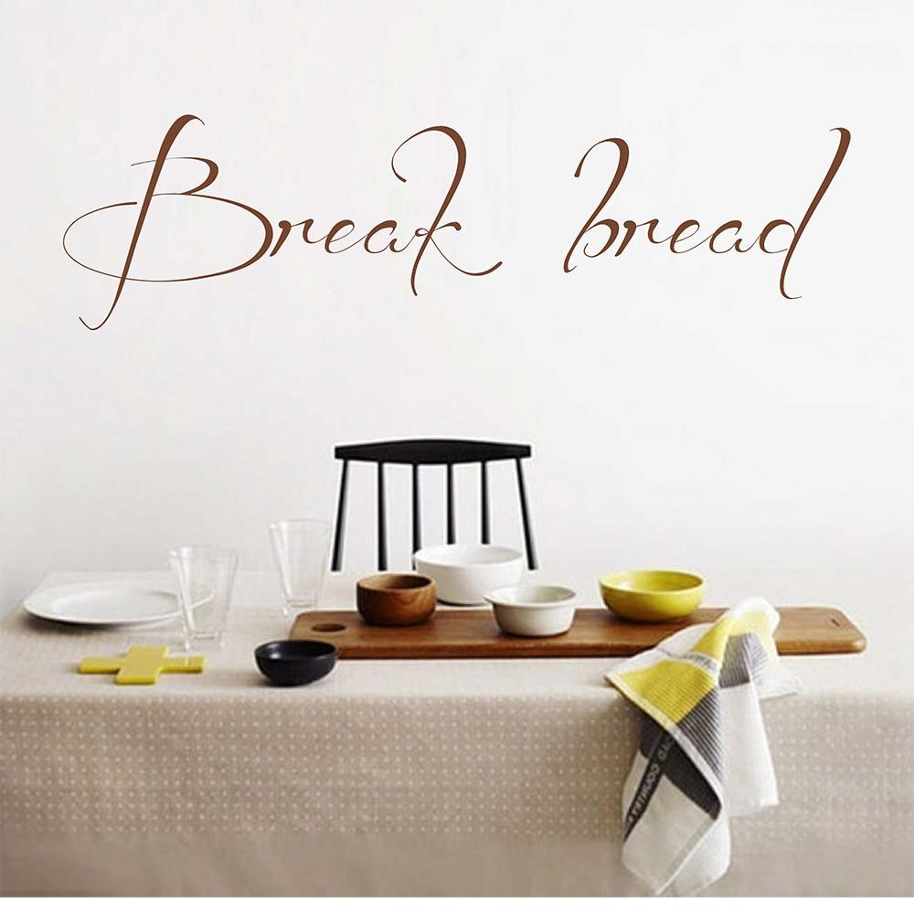 Cita O Parede Decalque Quebrar P O Cozinha Adesivo De Parede Sala  -> Adesivo Sala De Jantar