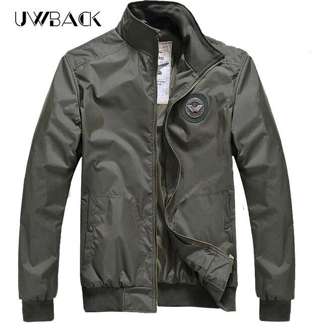Uwback 2017 New Brand Air Force Bomber Jacket Men Windbreaker Military Overcoat jacket Casual Outwear Coats Male TA068