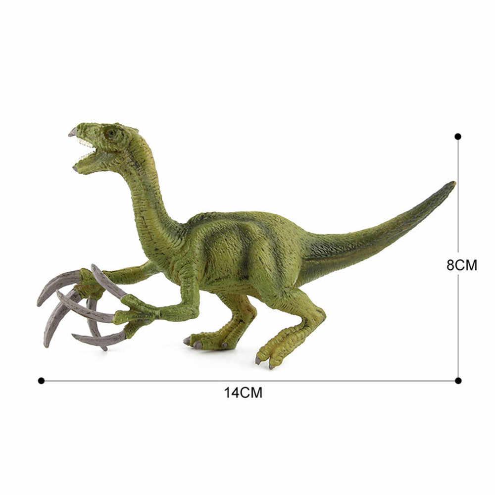 Arte Artesanato Simulado Dinossauros Figurinhas Figma Crianças Toy Figuras Coleção Modelo Brinquedos Educativos Para Meninos Crianças FE12d