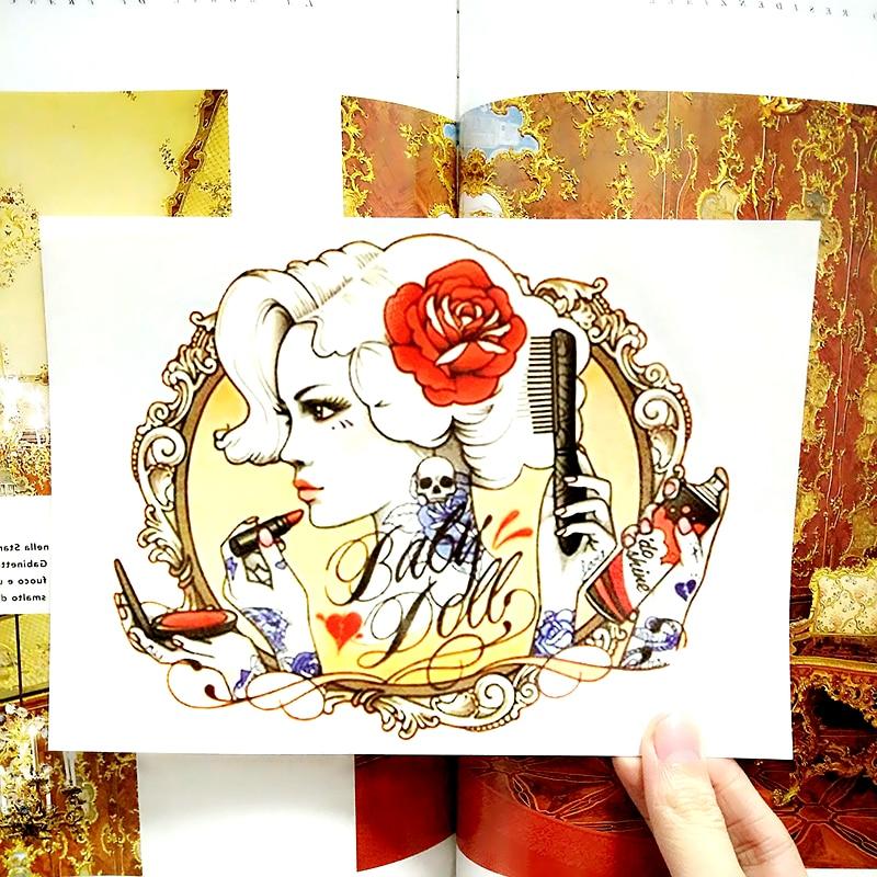 Sexy Baby font b Doll b font Temporary Tattoo Body Art Flash Tattoo Sticker Waterproof Adult