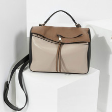 High Quality 2017 New Genuine Leather Women Boston Bags Casual Messenger Cross Body Shoulder Bag Hand Bag Purse