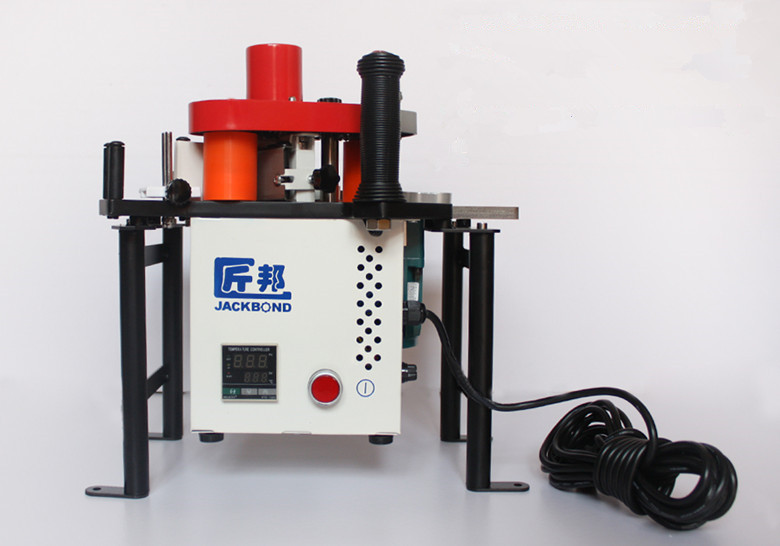 Portable Edge Bander 110v 220v Double Sided Adhesive Edge Banding Machine For Woodworking Machinery JBD80 in Wood Based Panels Machinery from Tools