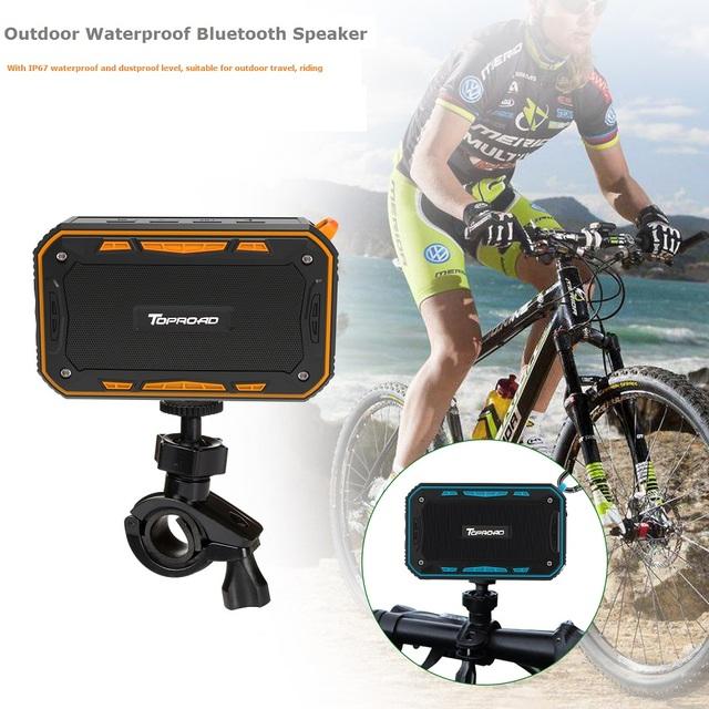 Portable IP67 Waterproof Bluetooth Speaker