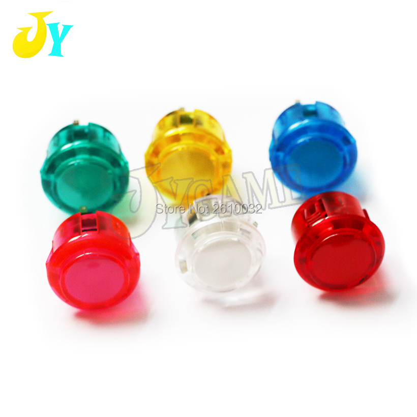 Office & School Supplies Genteel 20pcs Copy Sanwa Push Button 30mm Clear Acrylic Push Button With High Life Microswitch Arcade Start Butt Lab Supplies