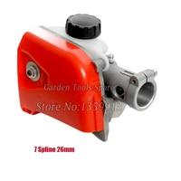 Gear head Gear box 26mm 7 Spline for 4in 1 Strimmer Brush Cutter