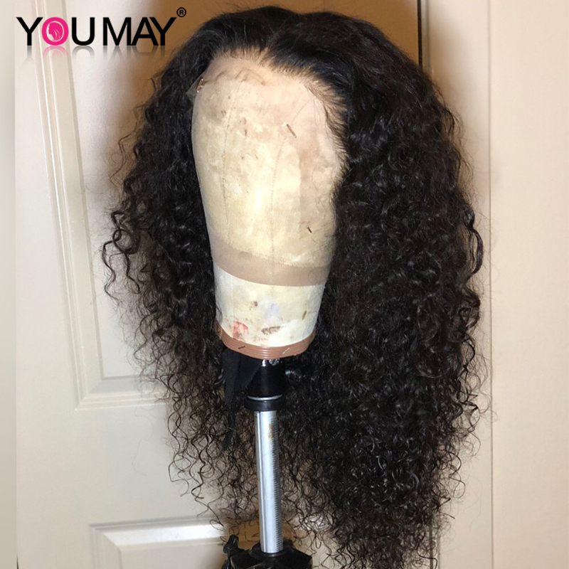 13x6 Lace Front Wig 150 180 250 Density Brazilian Curly Lace Front Human Hair Wigs For