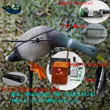 Germano reale Drake filatura ala motorizzato caccia anatra decoy con telecomando