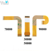 YuXi 10pcs Ribbon Cable 70000x 90000x Laser Lens For PS2 Slim Flex Connection SCPH 70000 90000 30000 50000 Accessory Replacement laser lens tdp 082w tdp182w for ps2 slim sony playstation 2 with deck mechanism optical 7900x 70000 90000 replacement
