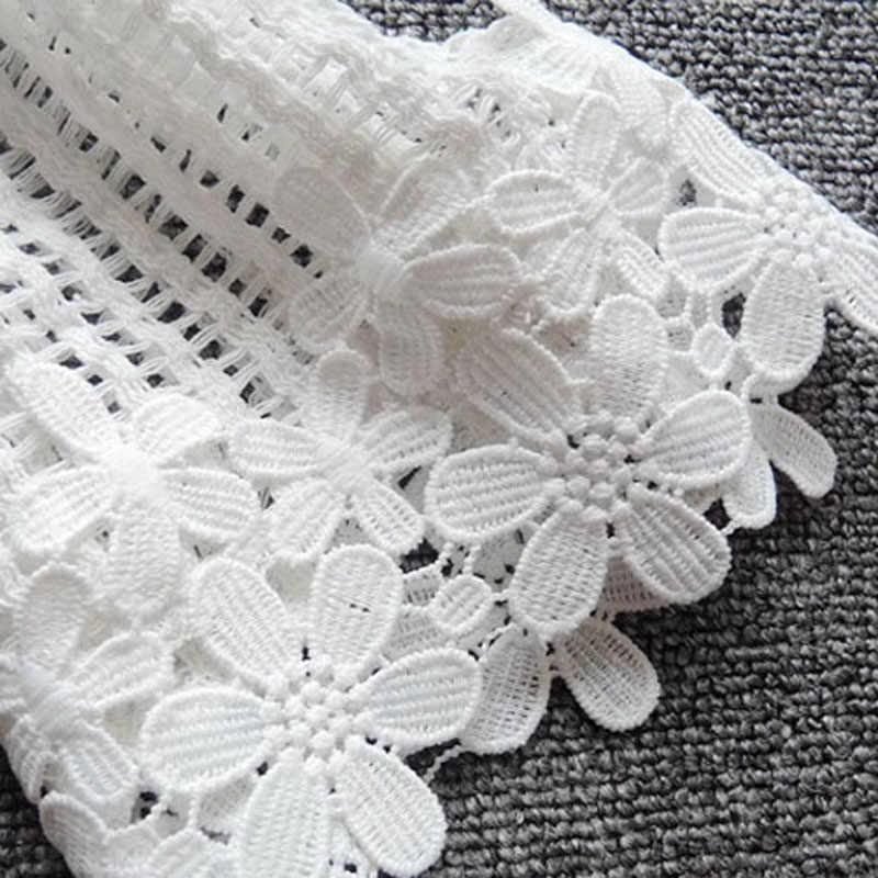 Lerfey пикантные Для женщин блузка рубашка Белый O Средства ухода за кожей Шеи Элегантный цветочный кружевная блузка выдалбливают Повседневное короткие черные Топы корректирующие сезон: весна–лето blusas