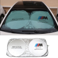 Tyvek Dupont M Emblem M Power Performance Car Sunshade For BMW X1 X3 X5 X6 E30 E34 E36 E39 E46 E60 E90 E92 E93 F10 F30 Z3 Z4 M3