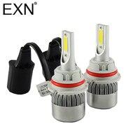 C6 Car Styling 9004 LED Headlight Bulbs Kit H8 H9 H3 H11 9005 9006 880 881