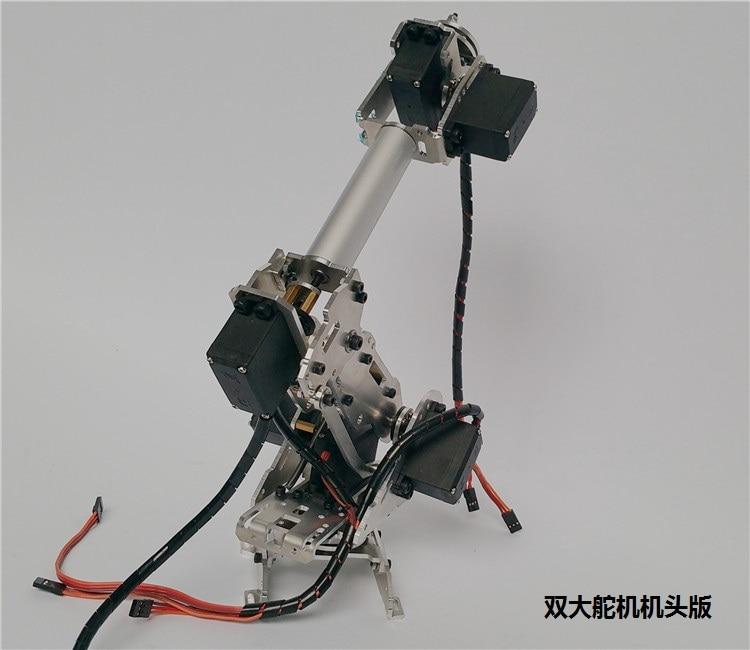 New Design Metal 6DOF Abb robot arm industrial robot model 6 servo  aluminium alloy SINONING SNAM1100