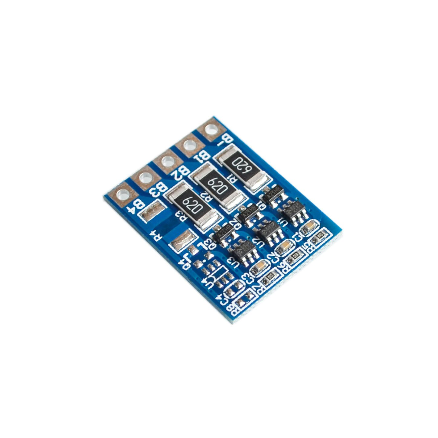 5PCS/LOT 3S 4.2v li-ion lipo balancer board balncing board full charge battery balance board ...