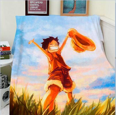 Image 5 - Blanket Custom Photo Design 150x200cm Flannel Fleece Blanket  Anime One Piece Printed Sofa Warm Bed Throw Blanket Adult H  Blanketfabric blanketswarm blanketthrow blanket