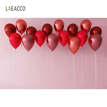 Laeacco Star Balloons Baby Party Birthday Portrait Photography Backgrounds Customized Photographic Backdrops For Photo Studio